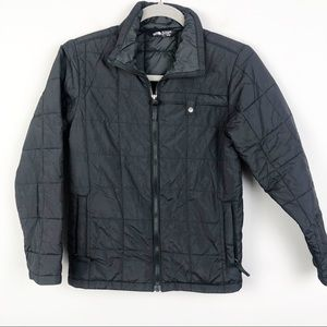 THE NORTH FACE | Boys Black Quilted Light Puffer M
